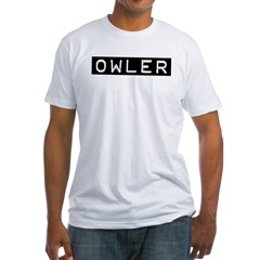 Owler Label Fitted T-Shirt