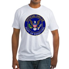 Official Owling Dept Seal Fitted T-Shirt