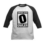 Content Rated Owler Kids Baseball Jersey