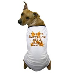 Ivrea Battle Of The Oranges Souvenirs Gifts Tees Dog T-Shirt