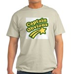 Captain Obvious Light T-Shirt