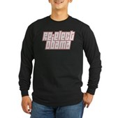 Re-Elect Obama Long Sleeve Dark T-Shirt