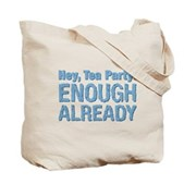 Hey, Tea Party Tote Bag