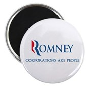 Anti-Romney Corporations Magnet