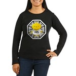 Lost Chick - Dharma Initiative Women's Long Sleeve Dark T-Shirt