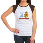 I Love Halloween Women's Cap Sleeve T-Shirt