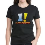 I ! Halloween Women's Dark T-Shirt