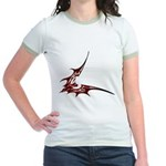 Vampire Bat 1 Jr. Ringer T-Shirt