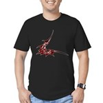 Vampire Bat 1 Men's Fitted T-Shirt (dark)