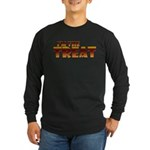Glowing I'm the Treat Long Sleeve Dark T-Shirt