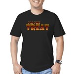 Glowing I'm the Treat Men's Fitted T-Shirt (dark)