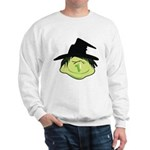 Happy Green Witch Sweatshirt