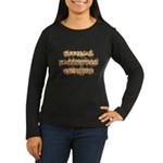 Official Halloween Costume Women's Long Sleeve Dark T-Shirt