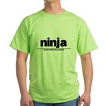 Generic ninja Costume Green T-Shirt