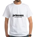 Generic princess Costume White T-Shirt