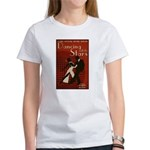 Distressed Retro DWTS Poster Women's T-Shirt