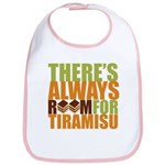 Always Room for Tiramisu Bib
