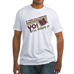 Yo! I'll Solve It Fitted T-Shirt