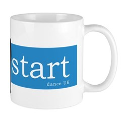 The Start - Blue Logo Mug