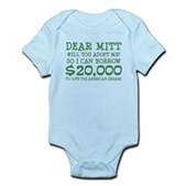 Mitt Will You Adopt Me? Infant Bodysuit