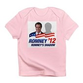 Anti-Romney Shadow Infant T-Shirt