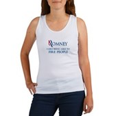 Anti-Romney: Fire People Women's Tank Top