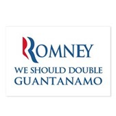Anti-Romney: Guantanamo Postcards (Package of 8)