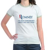 Anti-Romney: Very Poor Jr. Ringer T-Shirt