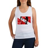 Divers for Obama Women's Tank Top