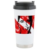 Divers for Obama Ceramic Travel Mug