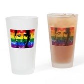 LGBT for Obama Drinking Glass