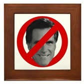 No Mitt Framed Tile