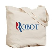Anti-Romney ROBOT Tote Bag