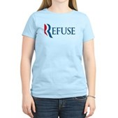 Anti-Romney Refuse Women's Light T-Shirt