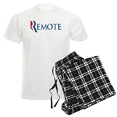 Anti-Romney Remote Men's Light Pajamas
