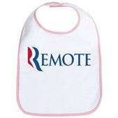 Anti-Romney Remote Bib