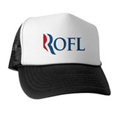 Anti-Romney ROFL Trucker Hat