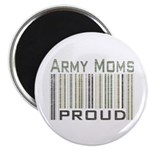 Military Army Moms Proud Magnet