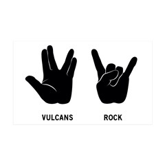 Vulcans Rock 35x21 Wall Decal