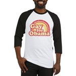 Gay for Obama Baseball Jersey