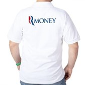 Anti-Romney RMONEY Golf Shirt