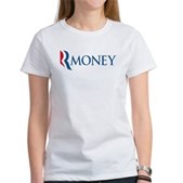 Anti-Romney RMONEY Women's T-Shirt
