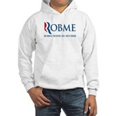 Anti-Romney Rob Me Robin Hood Hooded Sweatshirt