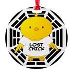 Lost Chick - Dharma Initiativ Round Ornament