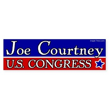 Vote Joe Courtney for Congress bumper sticker