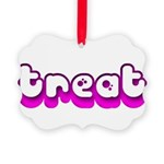 Retro Treat Picture Ornament