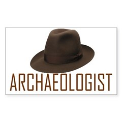 Archaeologist Sticker (Rectangle)