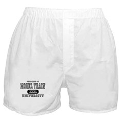 Model Train University  Boxer Shorts