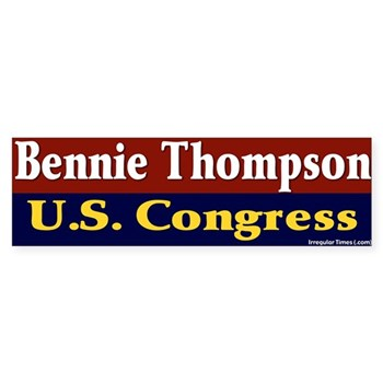 Bennie Thompson for U.S. Congress bumper sticker
