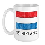 Netherlands Flag Large Mug